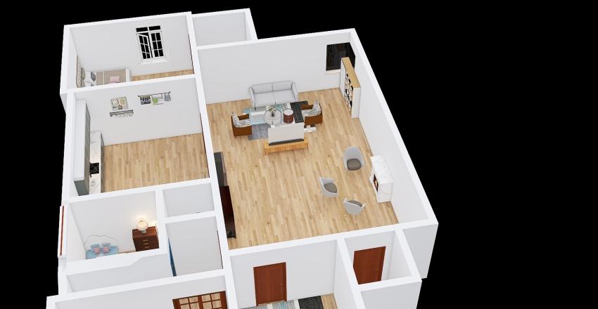 jiyakulshreshthadreamsmarthome Interior Design Render