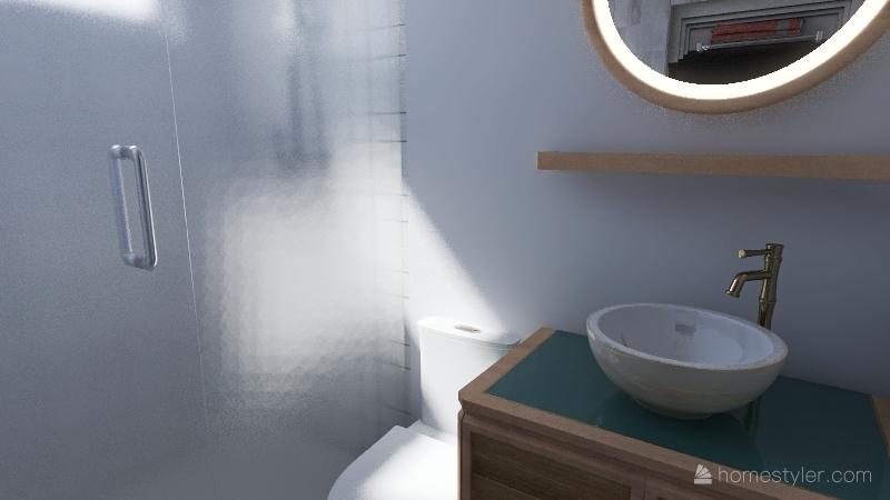 Apê_boho Interior Design Render