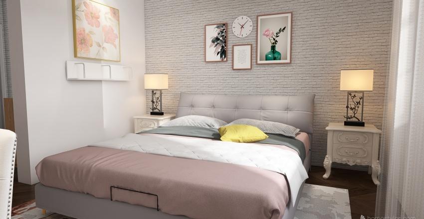Friends - Apartment Renovation (Monica and Rachel) Interior Design Render