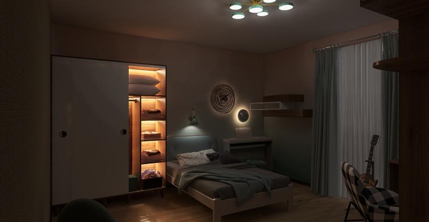 Copy of спальня попаравки Interior Design Render