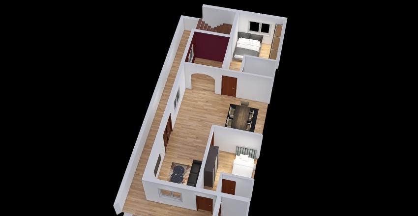 Harish home 2nd floor Interior Design Render