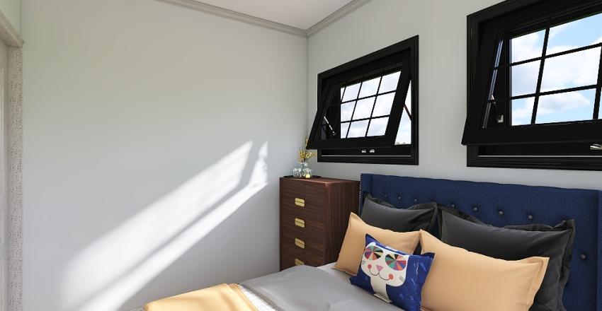 Habitat House Interior Design Render