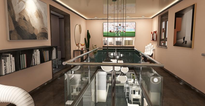 duplex appartamentino Interior Design Render