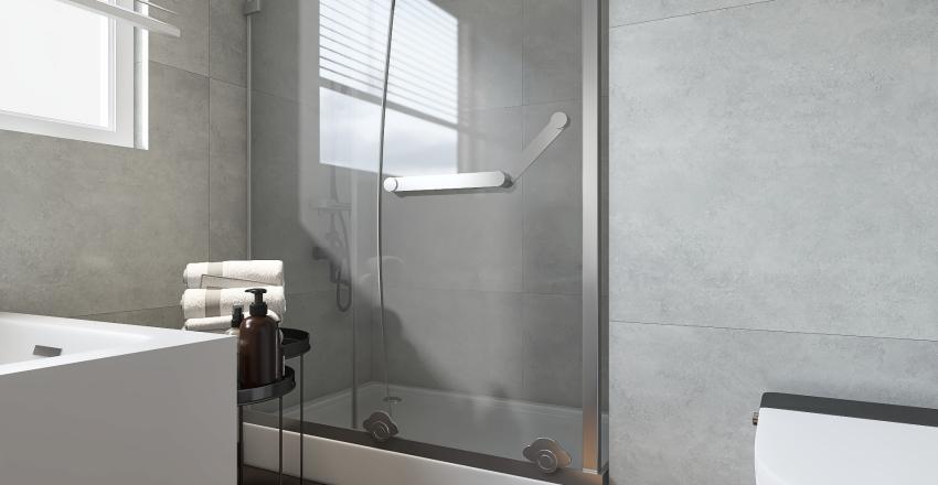 Split Level apertment Interior Design Render