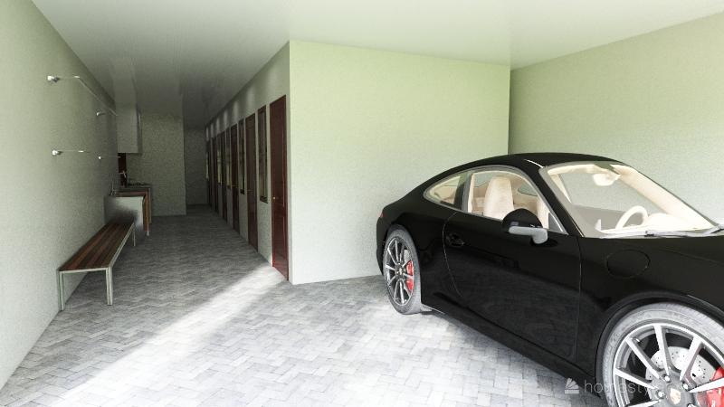 Troy Wohnung - Full Lot Interior Design Render