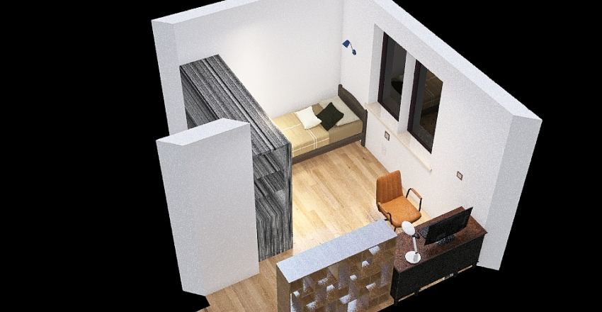 můj pokoj Interior Design Render
