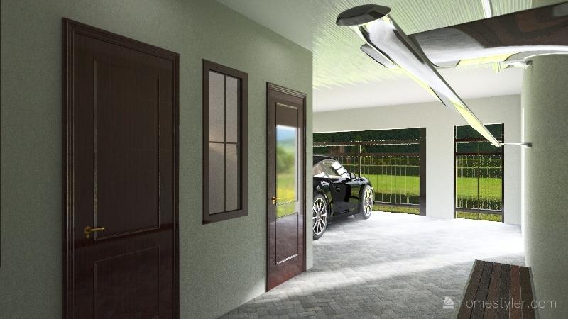 Troy Wohnung Interior Design Render