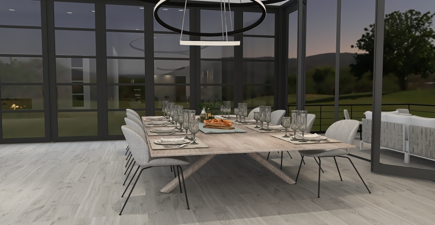 Modern Touch Interior Design Render