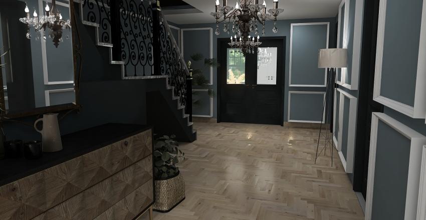 Amsterdam grachtenpand Interior Design Render