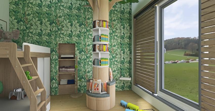 Cuarto de niños Interior Design Render