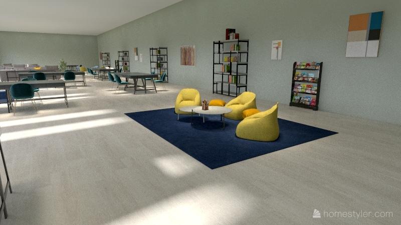 Copy of area de trabajo Interior Design Render