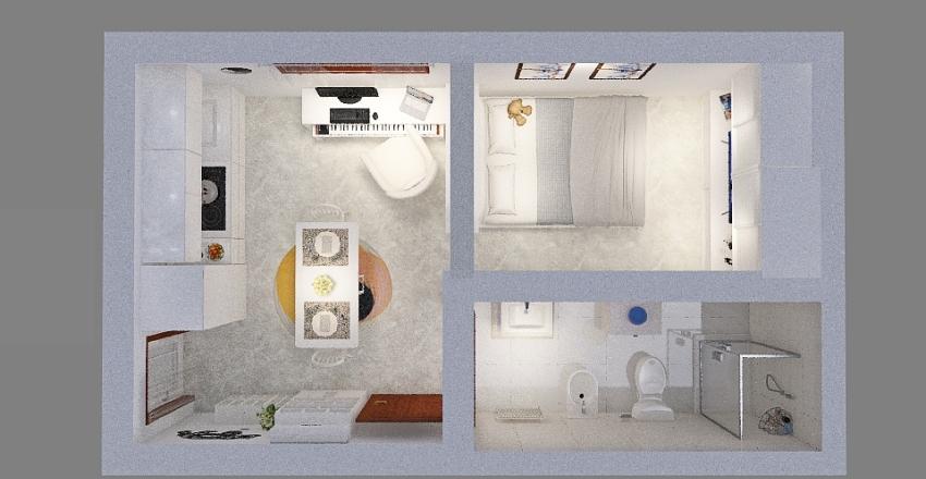 Copy of Casa Monolocale Interior Design Render