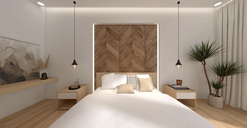 Muji - Tropical Inspired  Interior Design Render