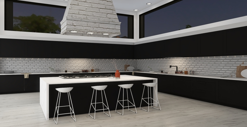 Modern Touch Interior Design Render