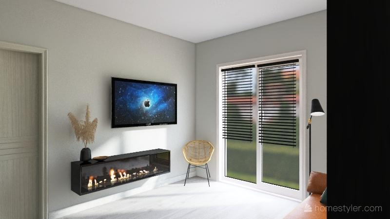 94 кв.м. Interior Design Render