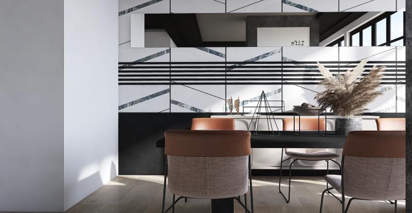 UNIQUE AND MODERN Interior Design Render