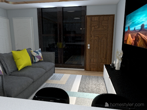 Projeto amanda Interior Design Render