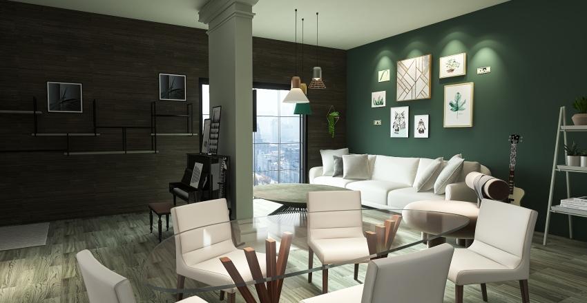 House no4 Interior Design Render