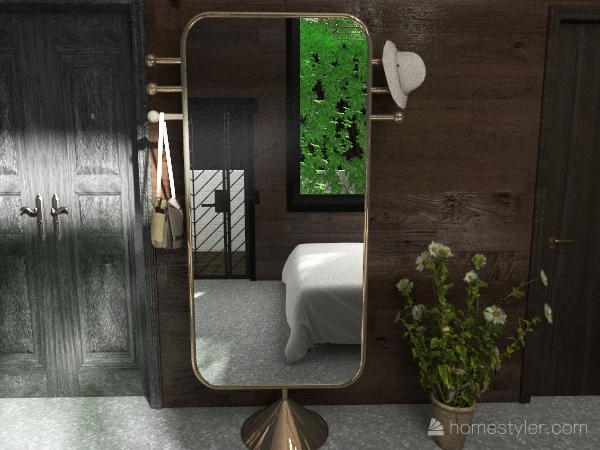 Small Apartment Interior Design Render