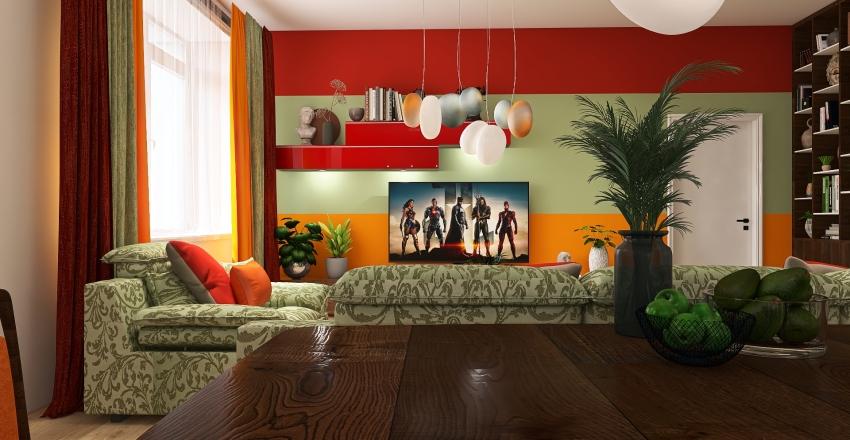 compelling color combinations Interior Design Render