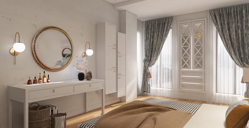 White Bedroom / H.ALG Yatak Odası Interior Design Render