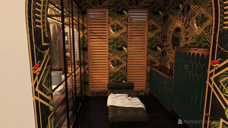 Bohemian Interior Design Render
