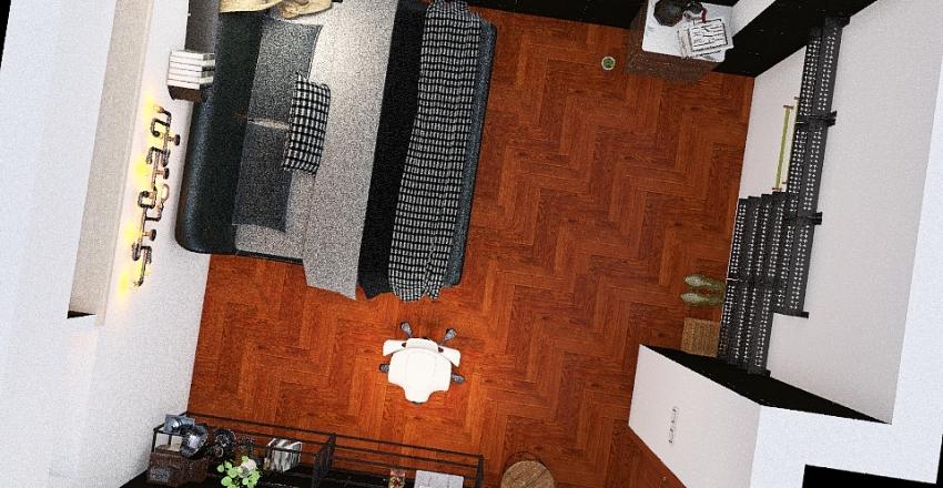 mi dormitorio/escritorio Interior Design Render