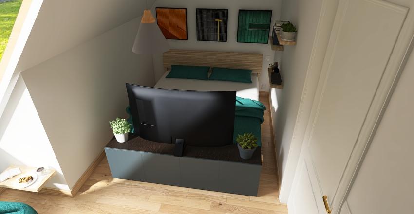 Eindwerk - kamer Interior Design Render