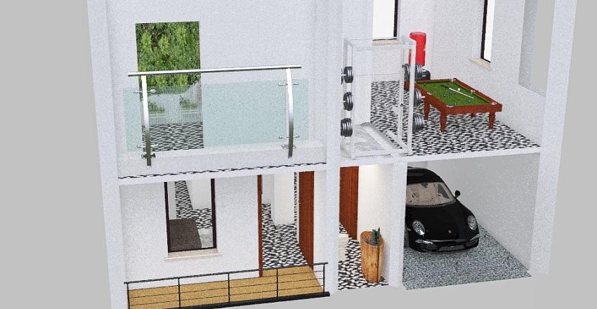 first Interior Design Render