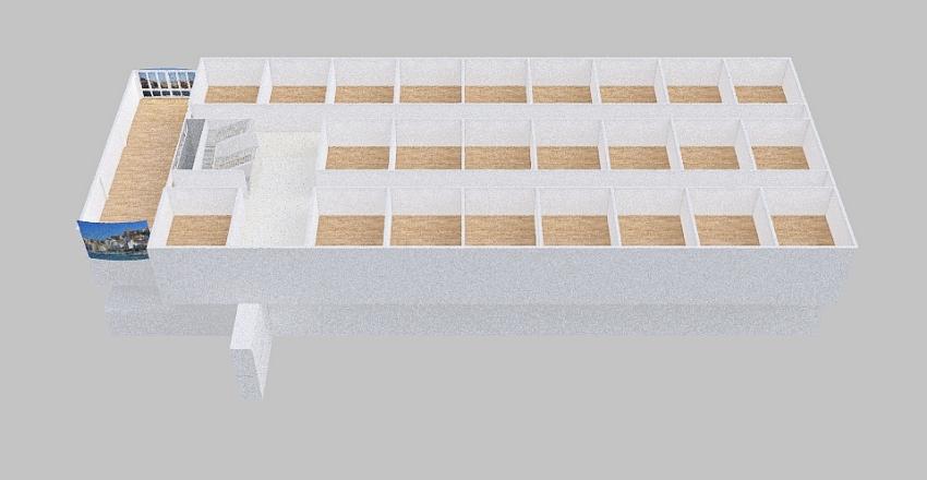 Váci földszint Interior Design Render