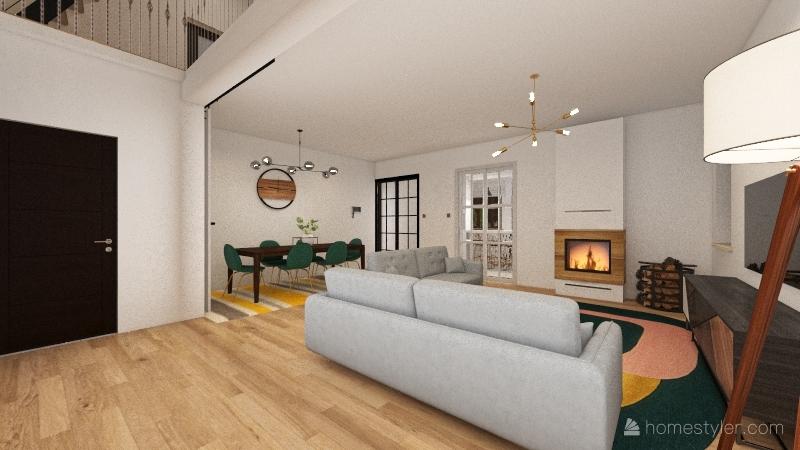 home pobre Interior Design Render