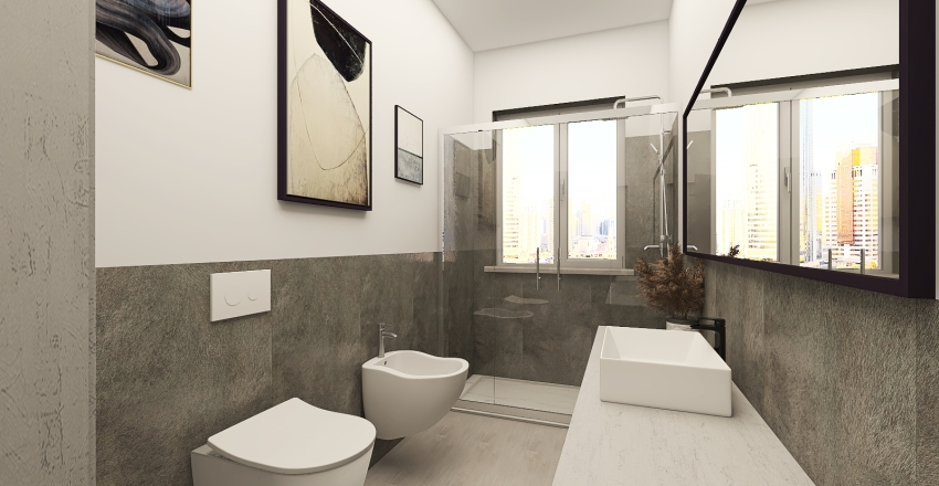 Piazza Salotto Interior Design Render