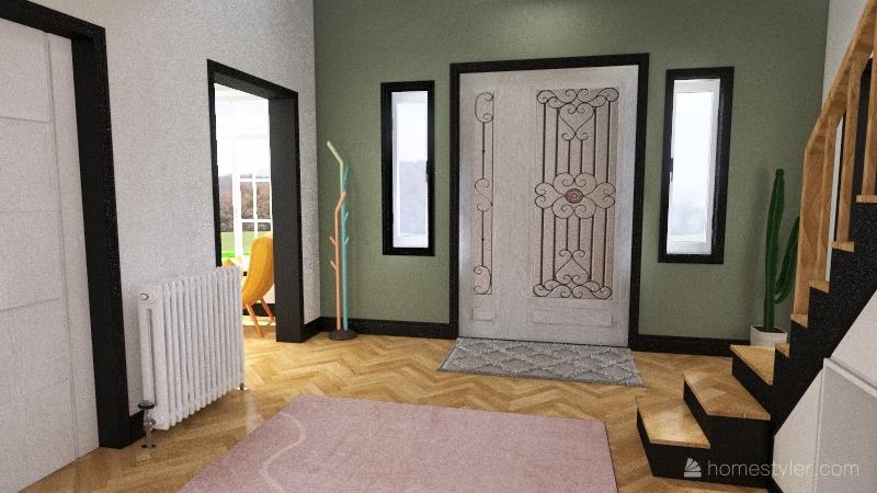 cottage Interior Design Render