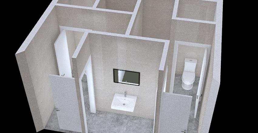 v2_wc Interior Design Render