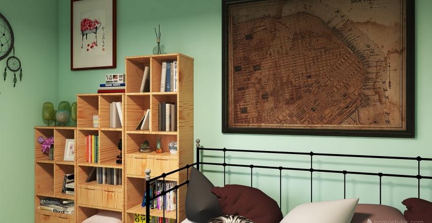 Conner's Bedroom Interior Design Render