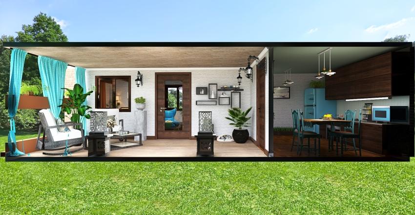 Modular Home Interior Design Render
