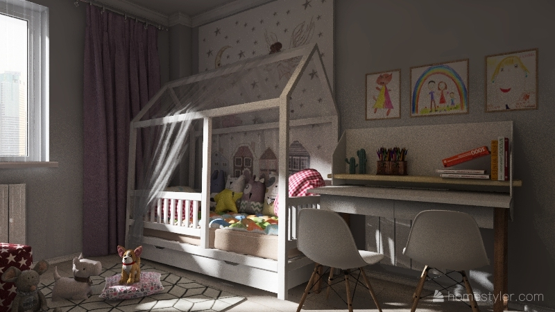 Детская комната Interior Design Render