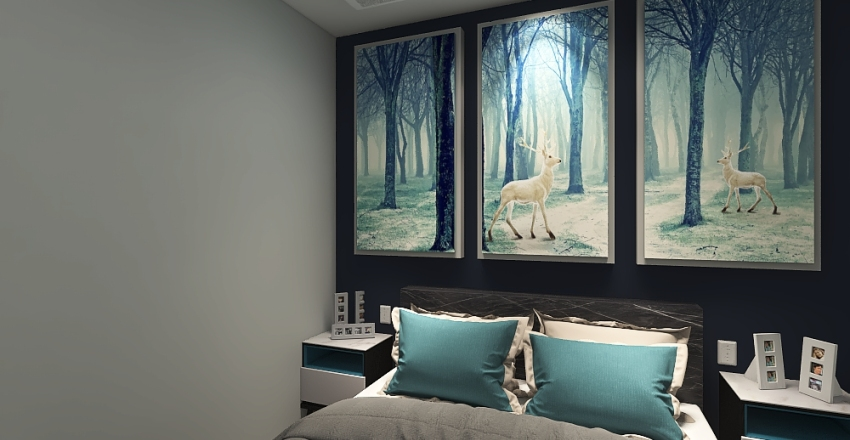 #Apartament Interior Design Render