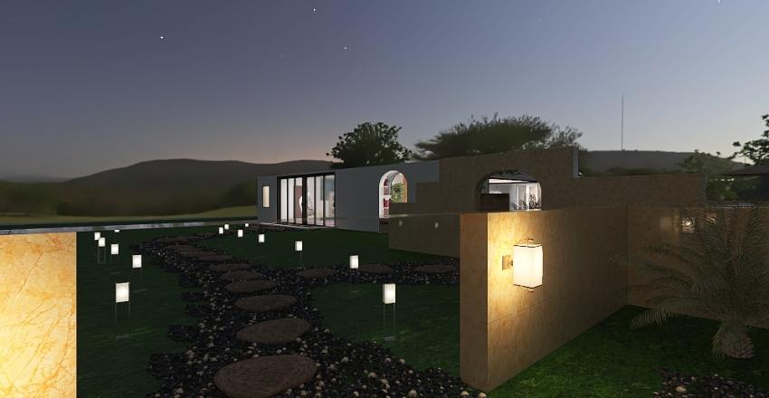 Core house Interior Design Render