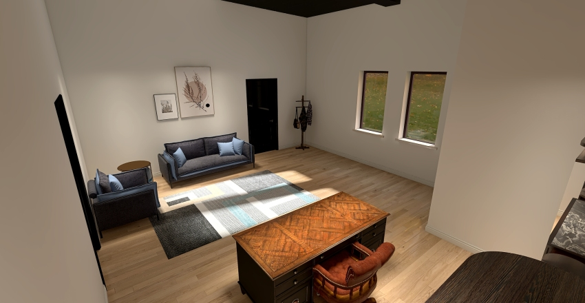 GFC Remodel Interior Design Render