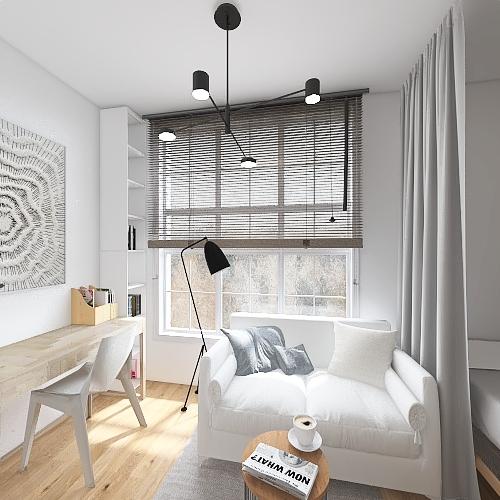 dorm3 Interior Design Render