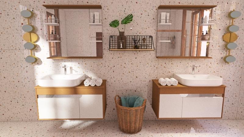 Mediterrâneo Interior Design Render