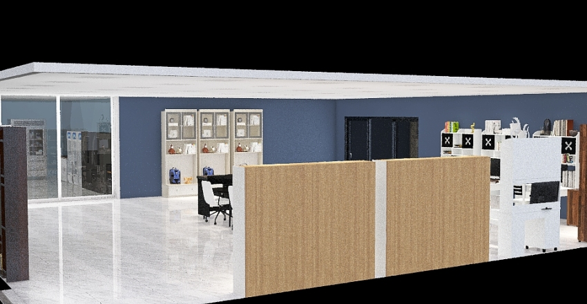 Copy of My laboratory Interior Design Render