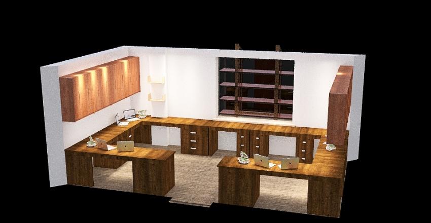 UM Office Interior Design Render