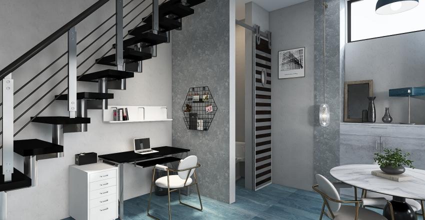 tiny house V.2 Interior Design Render