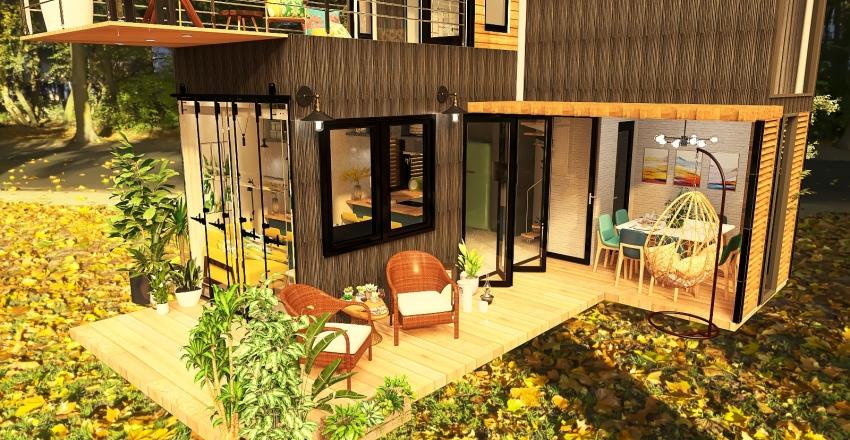 Splendida Arch Interior Design Render