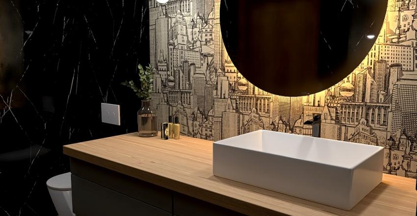 projekt bathroom Interior Design Render