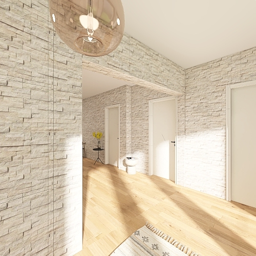 chalet 3 Interior Design Render