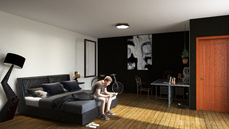 el cuarto que quiero Interior Design Render