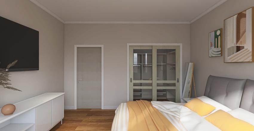 1 bed/ 1 bath Interior Design Render